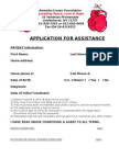 4 page assistance application agf