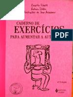 Caderno de Exercícios para aumentar a Auto estima - incompleto