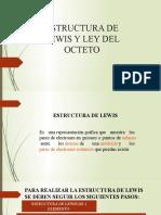 1. ESTRUCTURA DE LEWIS Y LEY DEL OCTETO