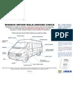 Minibus walk round poster