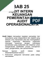 Bab 25 - Audit Intern Keuangan Pemerintah dan Audit Operasional