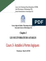 Cours7-Astable à Portes Logiques