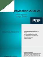 Jazz Improvisation 2020-21