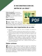 MARTÍN DE LA CRUZ