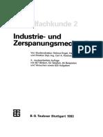Metallfachkunde 2 Industrie- Und Zerspanungsmechanik by Helmut Engel, Direktor Dipl.-ing. Carl a. Kestner (Auth.) (Z-lib.org)