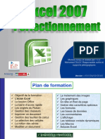 Formation Perfectionnement Excel 2007