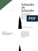 Schneider 1995 - on Fieldwork