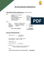 Actividad Unidad 7 Analisis de Reemplazo de Maquina