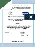 Dokumen.tips Etude Du Decalage de La Chaine Opercule Dune Conditionneuse de Yaourt
