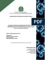 estudo de vacinas suunidade