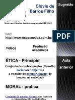 Clóvis de Barros Filho - slides