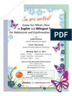Texts for Adolescent and Confirmation Catechesis San Bernardino, CA