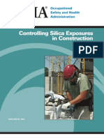 Controlling Silica Exposures in Construction