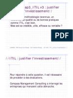 Chap3_ITIL v3  justifier l'investissement