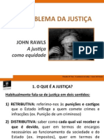 Problema da Justiça - John Rawls