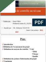 Processus de Contrôle (1)