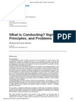 What Is Conducting_ Signs, Principles, and Problems