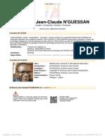 039 Guessan Gna Houa Jean Claude Rends Moi Justice Seigneur Mon Dieu 91765