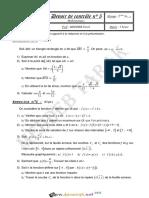 Devoir de Contrôle N°5 - Math - 2ème Sciences (2012-2013) Mr Meddeb Tarek