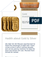 Pelaburan Emas - Gold Investment