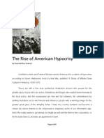 The Rise of American Hypocrisy by David Arthur Walters