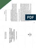 Friedberg y McClure - Practica Clinica de Terapia Cognitiva con Niños y Adolescentes - Cap 6 - si