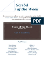 Scribd Community Voice of the Week