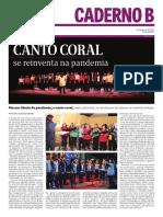 2020 O PROGRESSO - dia do canto coral