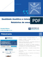 Webinar Mérieux Qualidade Analítica e Interpretação de CoA