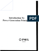 Introduction to Power Generation Principals