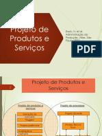 Cap. 5  Projeto de Produtos e Serviços