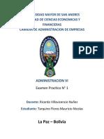 Tarquino Mauricio Examen Practico ADMI 6
