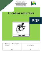 PRUEBAS SABER CIENCIAS NATURALES 5