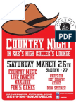 Rab's Country Night