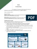 Óxidos Por FP PDF