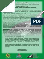 Manifiesto 15 Nov 09