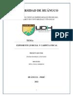 Expediente Judicial y Carpeta Fiscal - Luis Cecilio