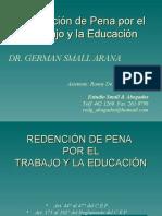 Beneficios Penitenciarios DE REDENCI+ôN DE PENA UNMSM JULIO 2007
