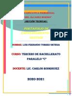 Portafolio E. y Gestión - Parcial 1 - Luis Torres - Tercero C