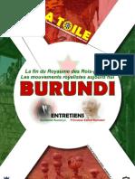 La Toile N°6 - Dossier Burundi