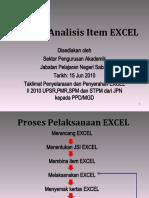 Manual penggunaan analisis item