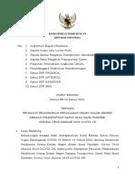 Surat Edaran Nomor 43 Tahun 2021