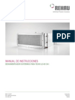 Manual del Deshumidificador LE KD2I