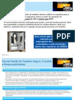 Manual. Segurança Electrica