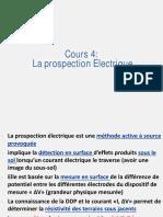Prospection Electrique