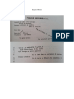 Paisaje Versiespacial, De Eugenio Montes