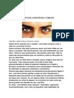 Lição 06 - Usando o Olhar Nas Conversas Comuns