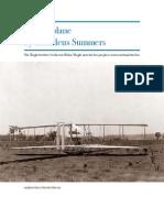 Thaddeus Airplane Report