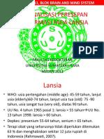 Rasionalisasi Peresepan Polifarmasi pada Lansia