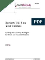 TechRemedy Backup Whitepaper